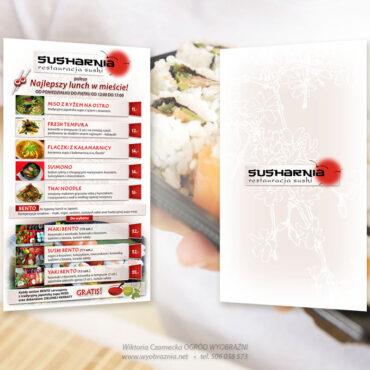 sushi, menu, susharnia, Bydgoszcz